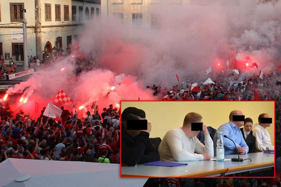 Zwickau-Fans wegen Pyro bei Aufstiegsfeier vor Gericht