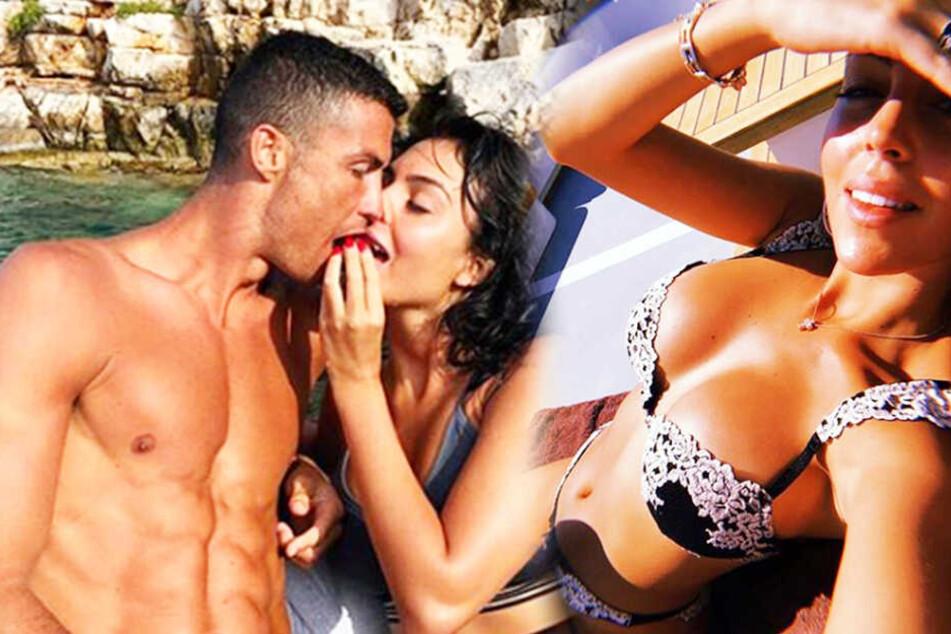 Cristiano Ronaldo (34) und seine Georgina Rodriguez (25) sind eines der heißesten Paare.