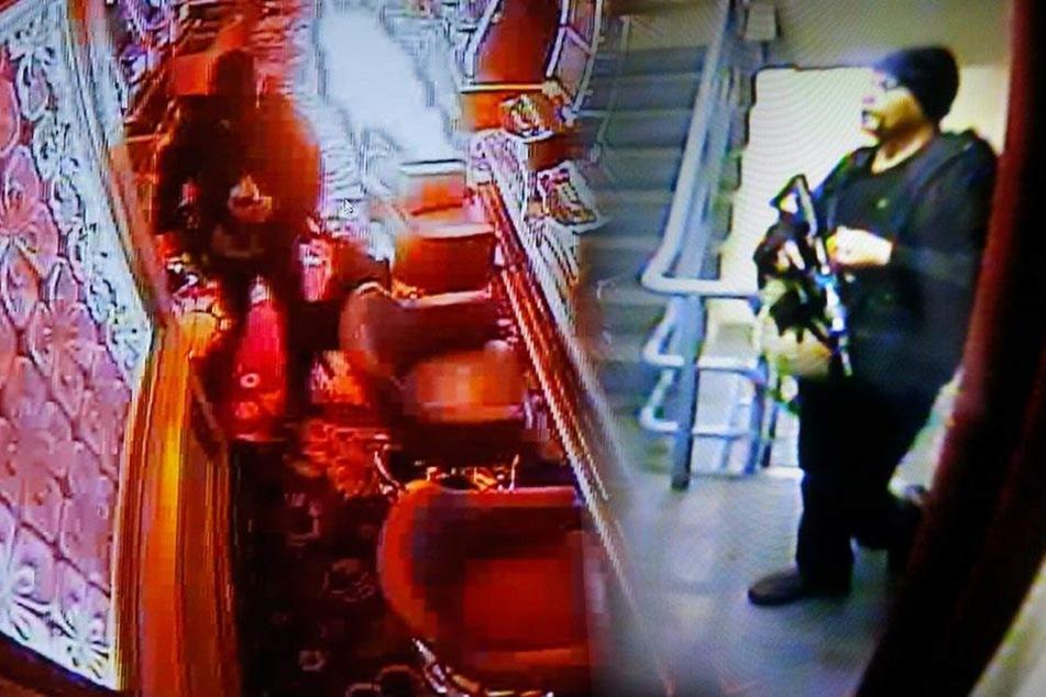 37 Tote in Luxushotel! Video zeigt Mann beim Feuer legen