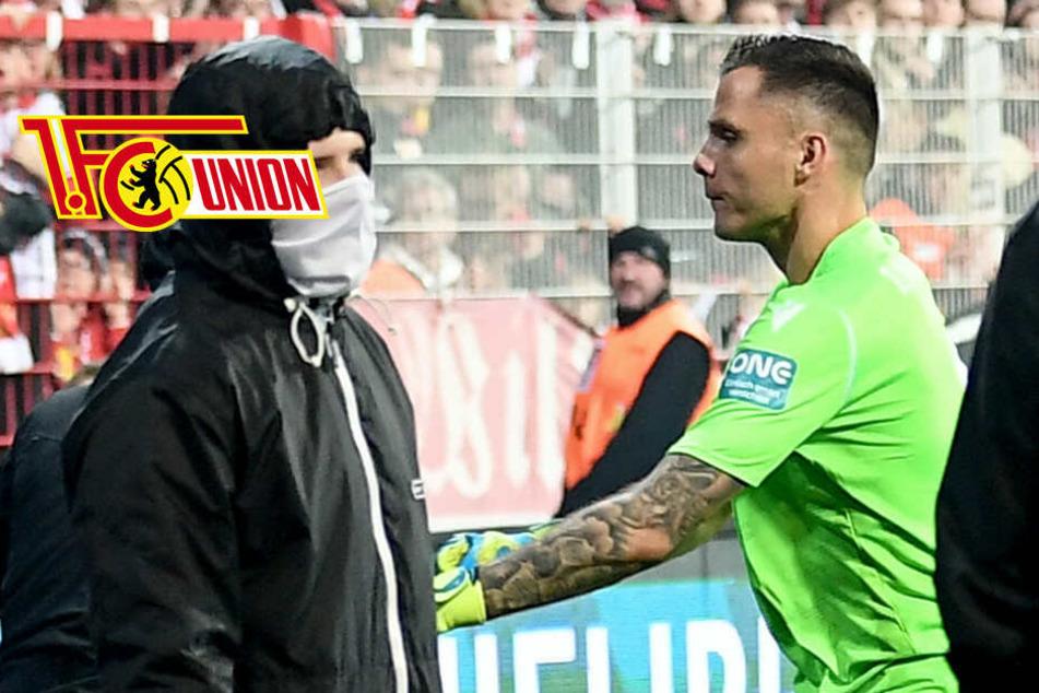 Derby-Held und Türsteher: Unions Gikiewicz erhält kurioses Angebot