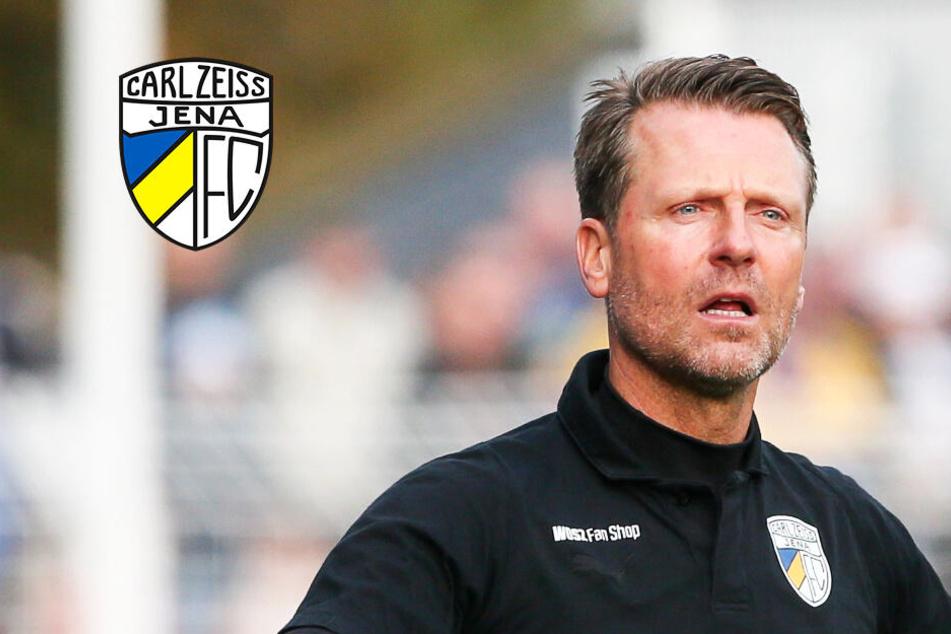 Carl Zeiss Jena entlässt Trainer Rico Schmitt!