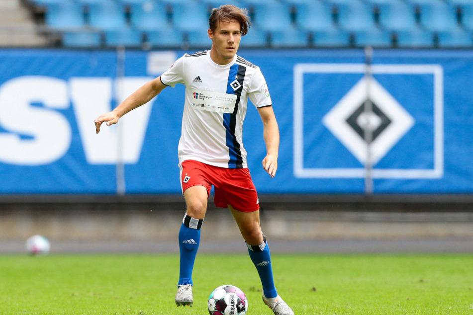 HSV-Profi Lukas Pinckert (20) fällt verletzt aus.