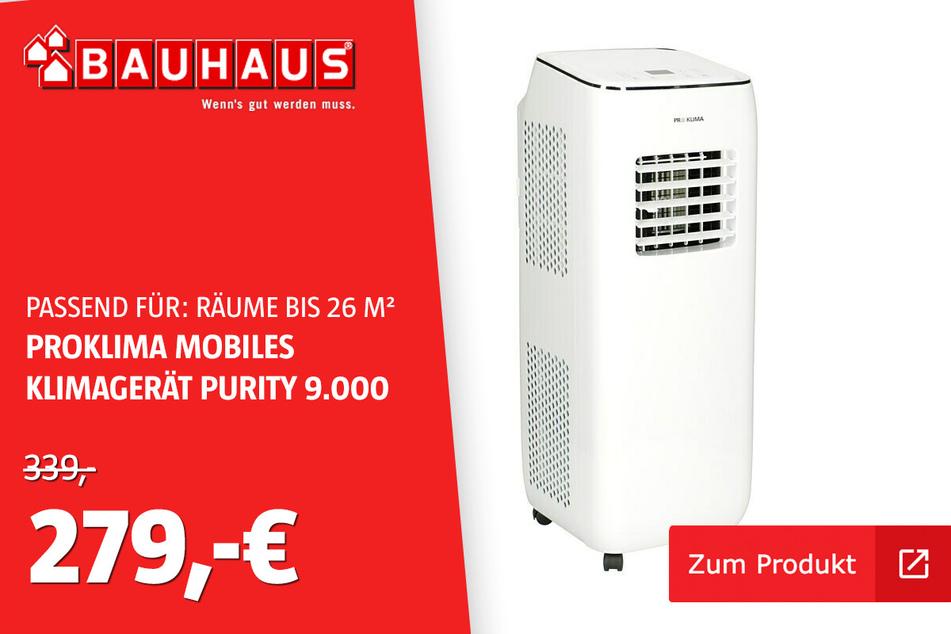 Klimagerät 9000 Btu für 279 statt 339 Euro