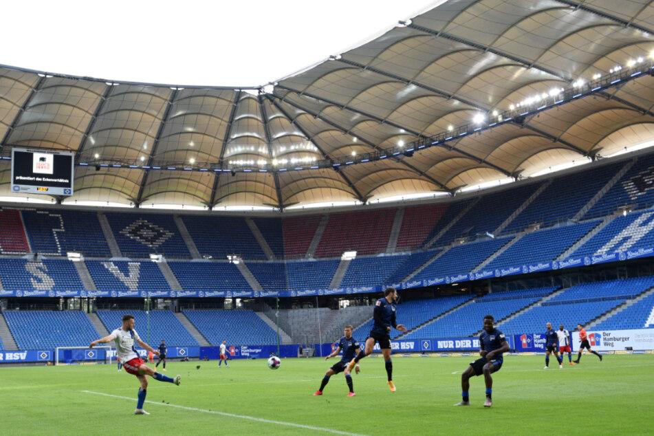 Zum Heimspiel gegen Düsseldorf dürfen wieder Fans ins Volksparkstadion.