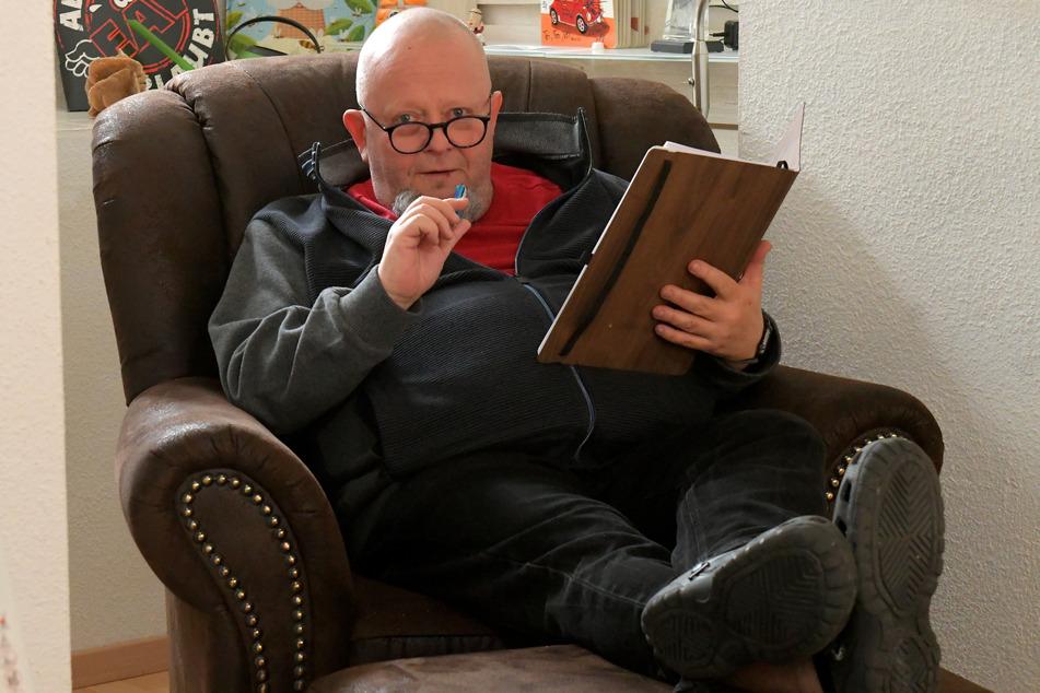 23,5 Kilo weniger: Holger Blum (56) wog im Januar 2020 noch 127 Kilo.