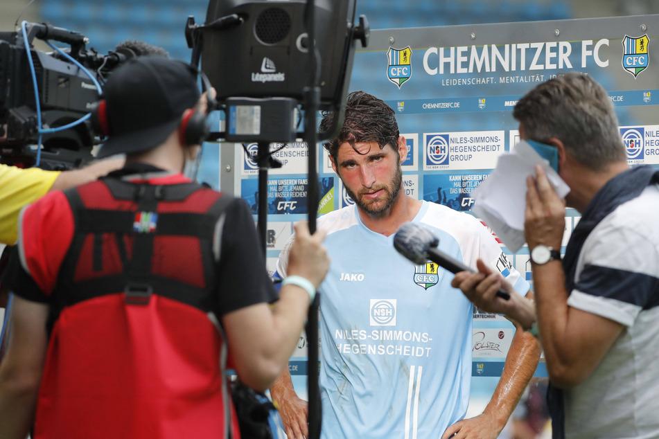 CFC-Kapitän Niklas Hoheneder redete nach der Auftaktpleite nicht um den heißen Brei herum.