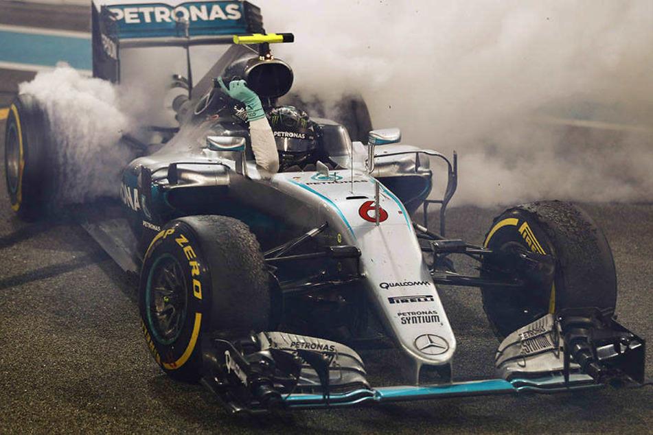 Was für ein Finale! Nico Rosberg ist Formel-1-Weltmeister.