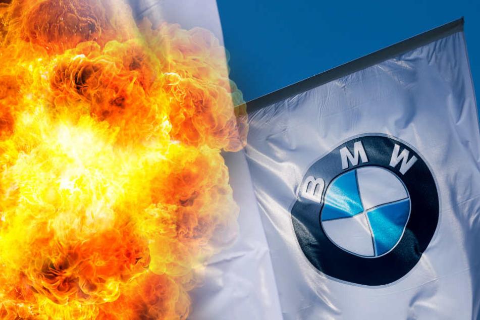 Aufgrund von Brandgefahr muss BMW 324.000 Autos zurückrufen. (Symbolbild)