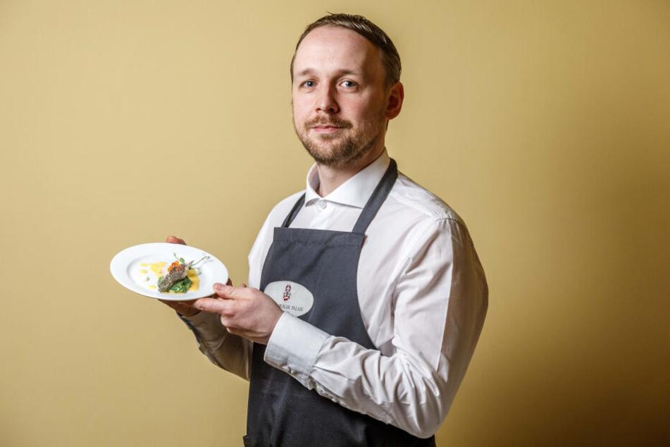 """Für Küchenchef Christian Weidt (34) ist es der zweite Titel. Schon 2017 räumte er bei den """"Kochsternstunden"""" in Dresden ab."""