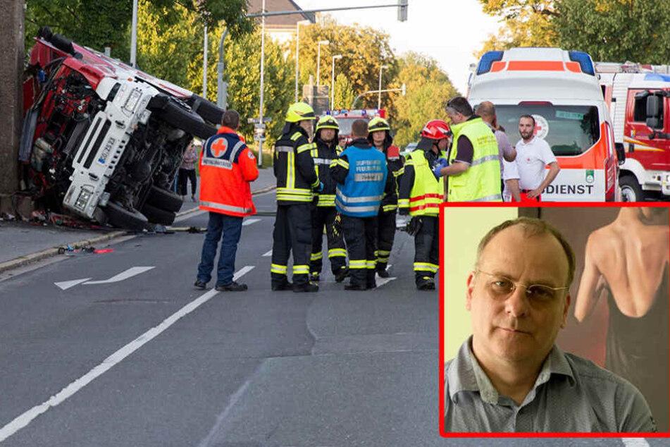 Sächsischer FDP-Politiker hetzt weiter gegen die Feuerwehr