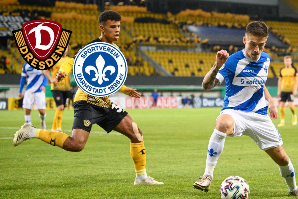 DFB-Pokal: Darmstadt 98 gewinnt klar bei Dynamo Dresden