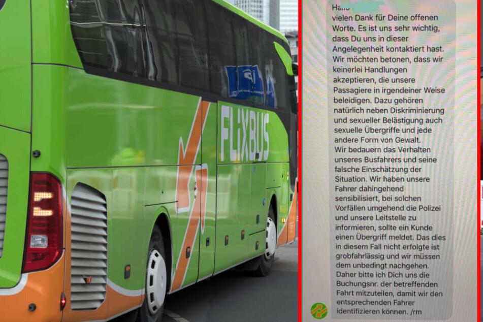 Flixbus reagierte auf den Vorfall und will nun den Fahrer zur Verantwortung ziehen.