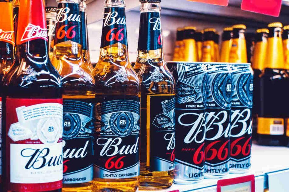 Budweiser: das in Amerika beliebte Bier wurde ins All geschossen (Symbolbild).