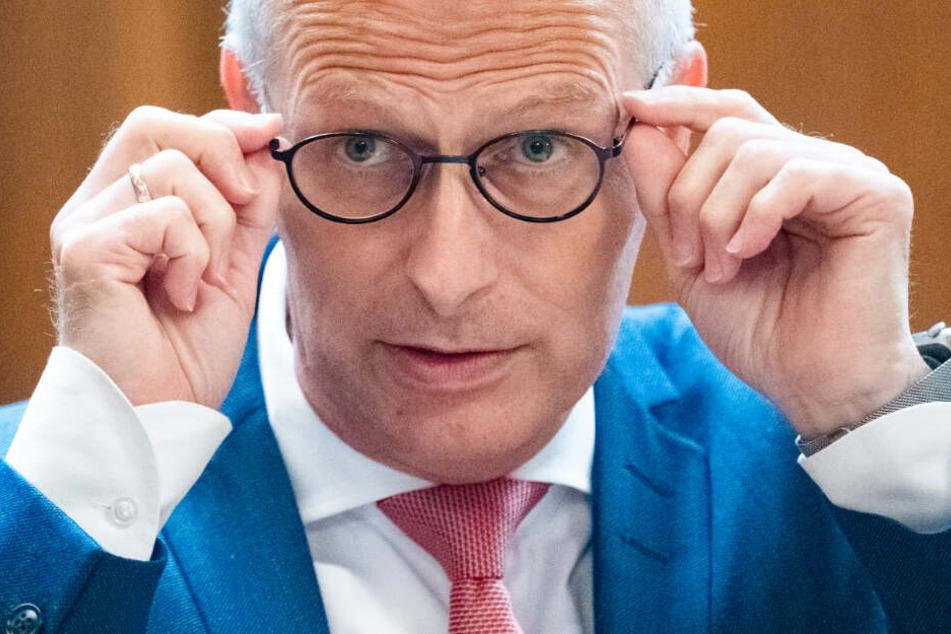 Peter Tschentscher ist der derzeitige Bürgermeister in Hamburg.