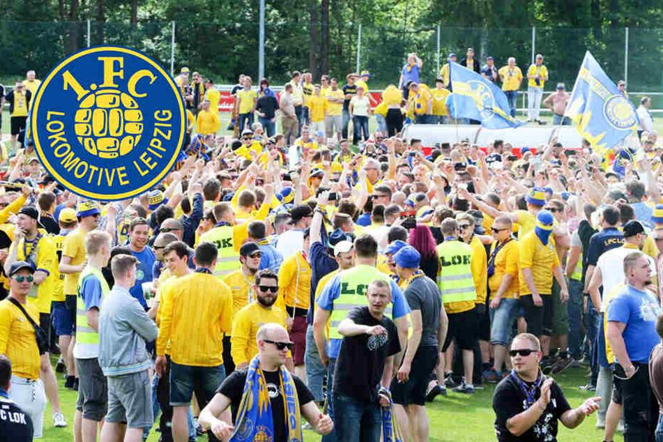 Bekommen Lok-Leipzig-Fans jetzt Stadion-Verbot?