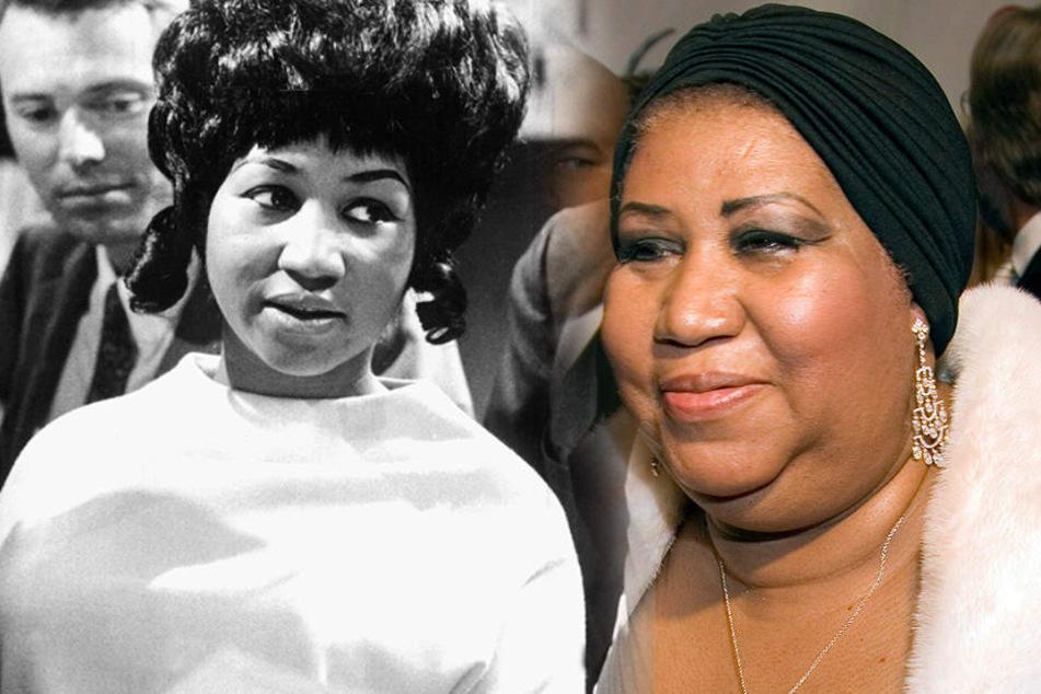 Aretha Louise Franklin wurde 1942 in Memphis geboren - sie ist wieder schwerst erkrankt.