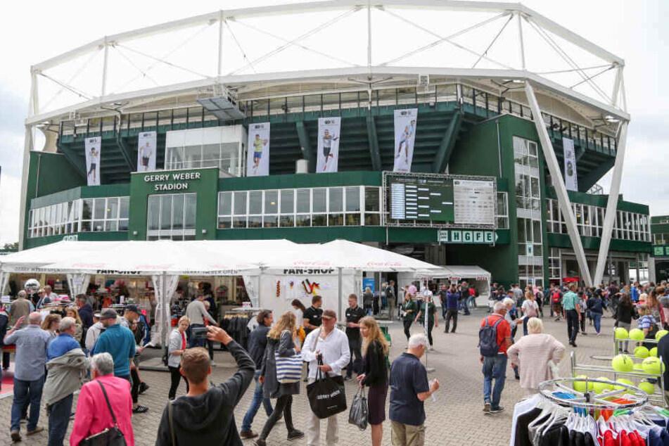 115.500 Besucher kamen bisher zu den 26. Gerry Weber Open.