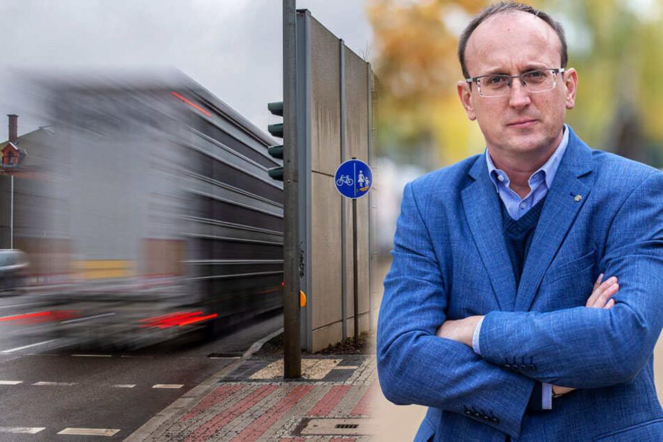 Autos, Lkw und Co: Dresdner total genervt vom Alltagslärm