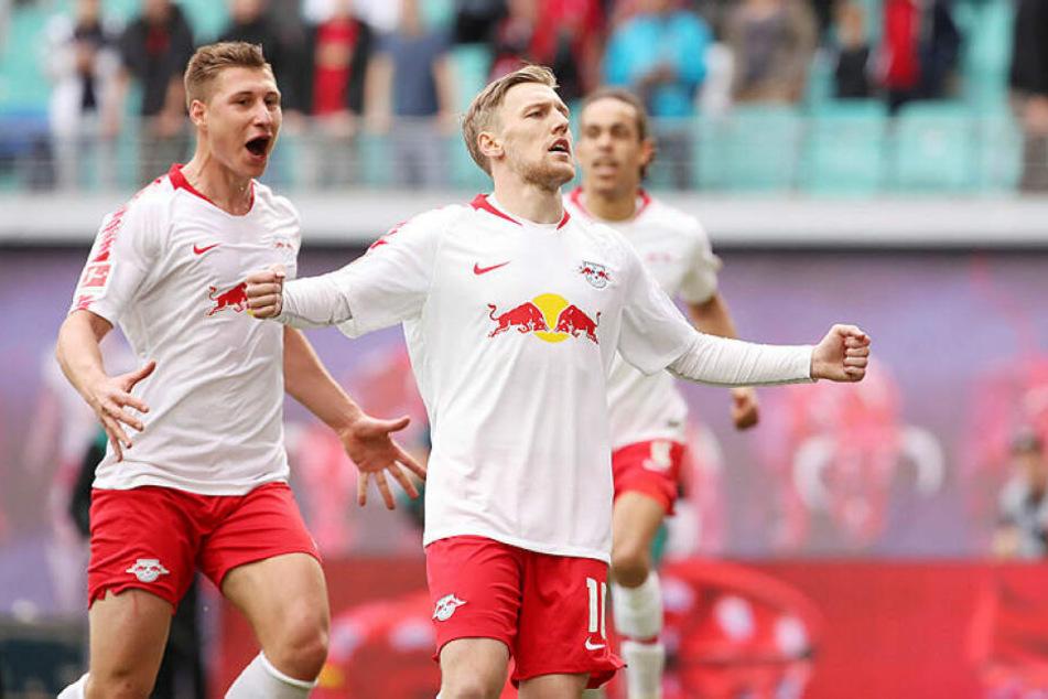 Emil Forsberg schoss RB mit einem Handelfmetertor zurück in die Champions League.
