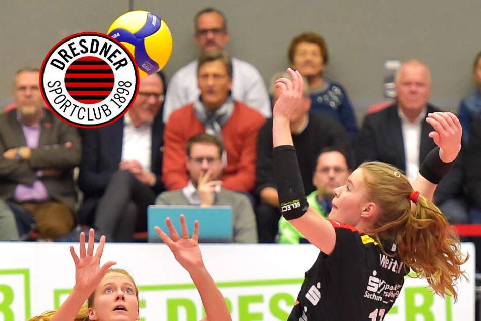 Dresdner SC: Spielen, trainieren und reisen