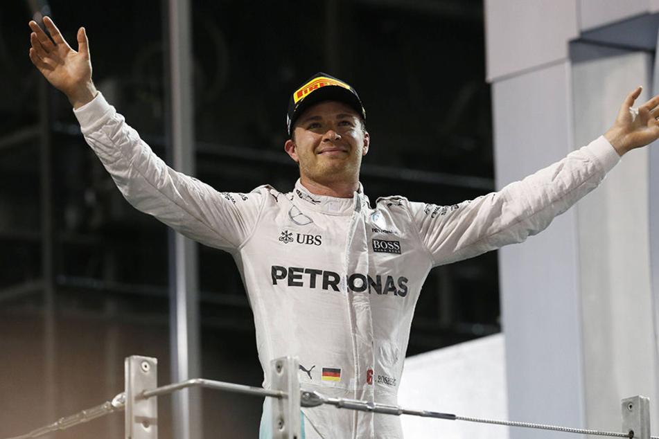 Am Ende stand er ganz oben: Nico Rosberg (31).