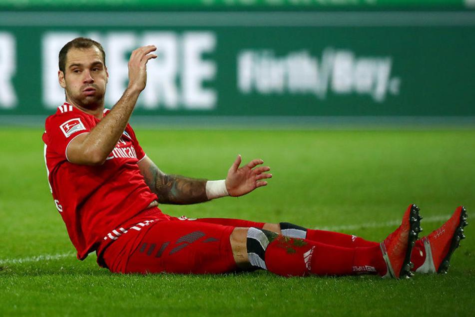 Pierre-Michel Lasogga blieb ohne Treffer.