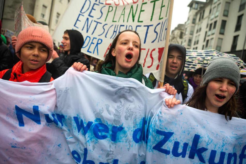 Bußgeld und Verweis wegen Klimademo? Damit müssen bayerische Schüler rechnen