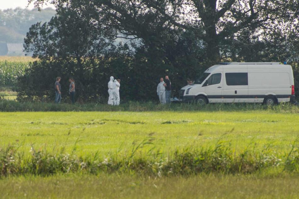 Die Leiche von Nathalie aus Nordfriesland wurde neben einem Feld gefunden.