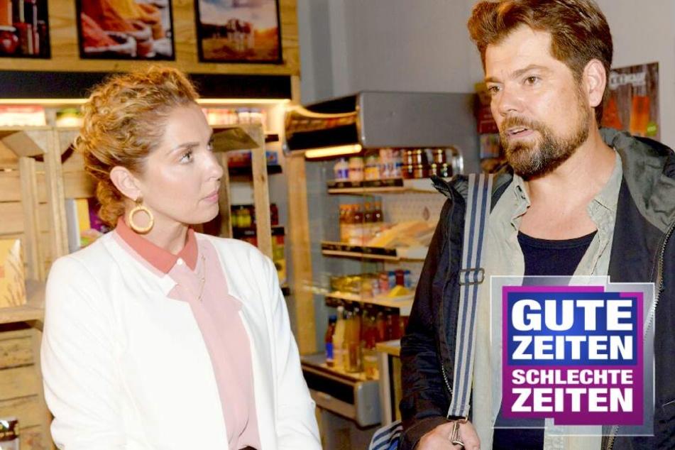 GZSZ: Heiße Überraschung für GZSZ-Leon: Nina nur noch in Dessous!