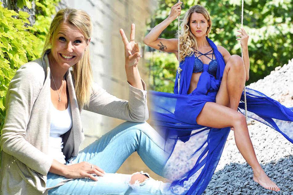 Mareen Apitz (30), Volleyballerin vom Dresdner SC, ist die schönste Sportlerin Deutschlands.