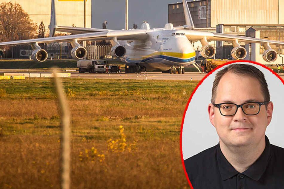 Für Sören Pellmann ist das wachsende Frachtaufkommen des Flughafens Leipzig/Halle eine Entwicklung in die völlig falsche Richtung.