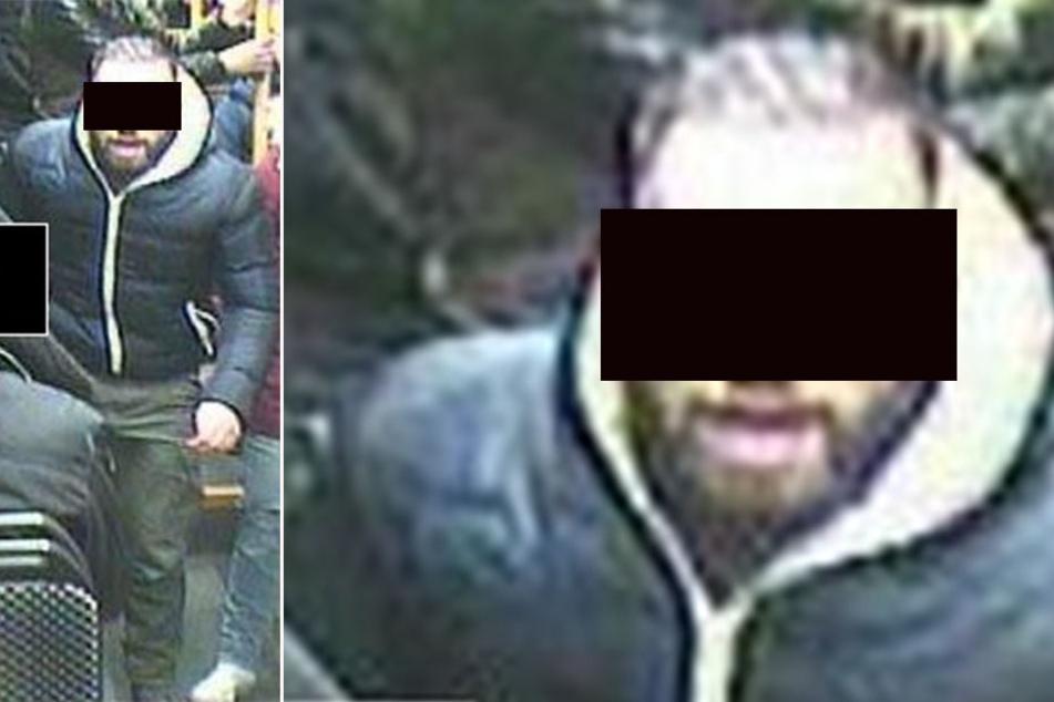 Mit dem Foto fahndete die Polizei seinerzeit nach dem Tram-Schläger aus der Linie 11. Als sich Marcel R. (27) darauf erkannte, stellte er sich.