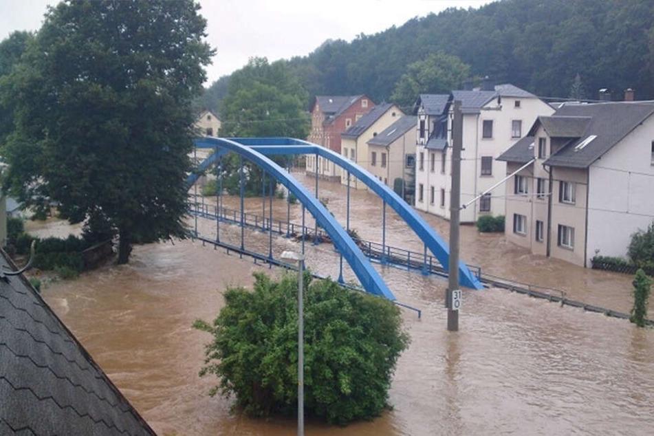 Harthau ist durch Hochwasser besonders gefährdet. Anwohner fordern seit Jahren besseren Schutz.