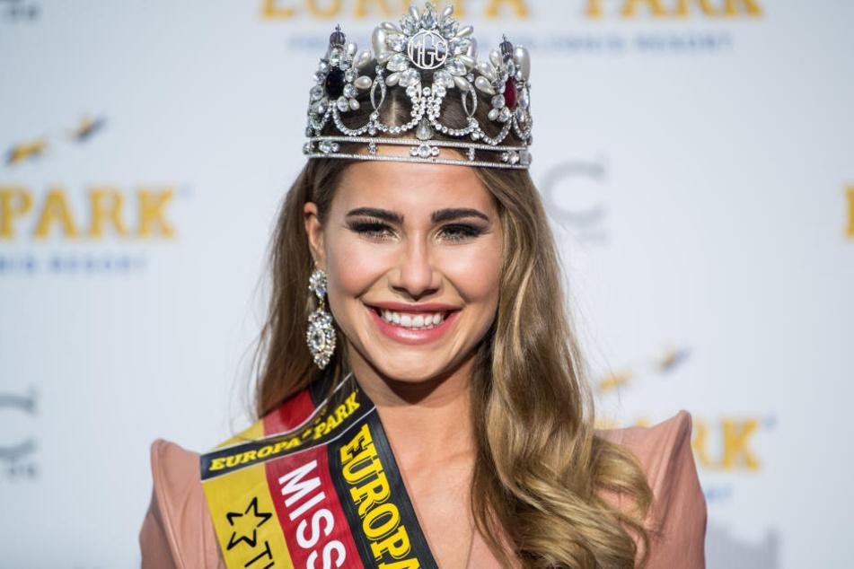 Nach der Wahl zur Miss Baden-Württemberg, konnte Anahita Rehbein in Rust den Titel der Miss Germany holen.