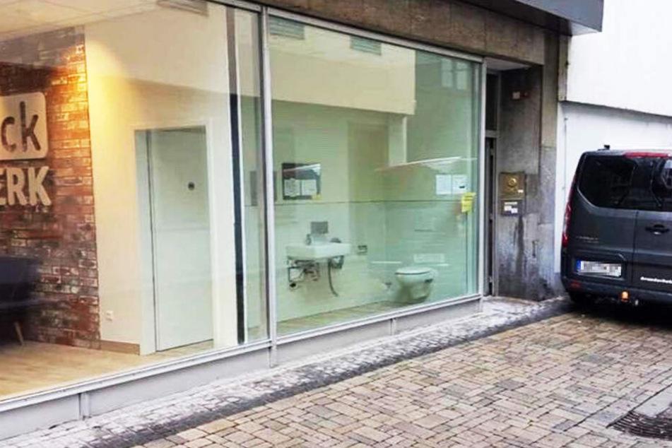 Was hat sich BackWerk denn bei dieser Toilette gedacht?