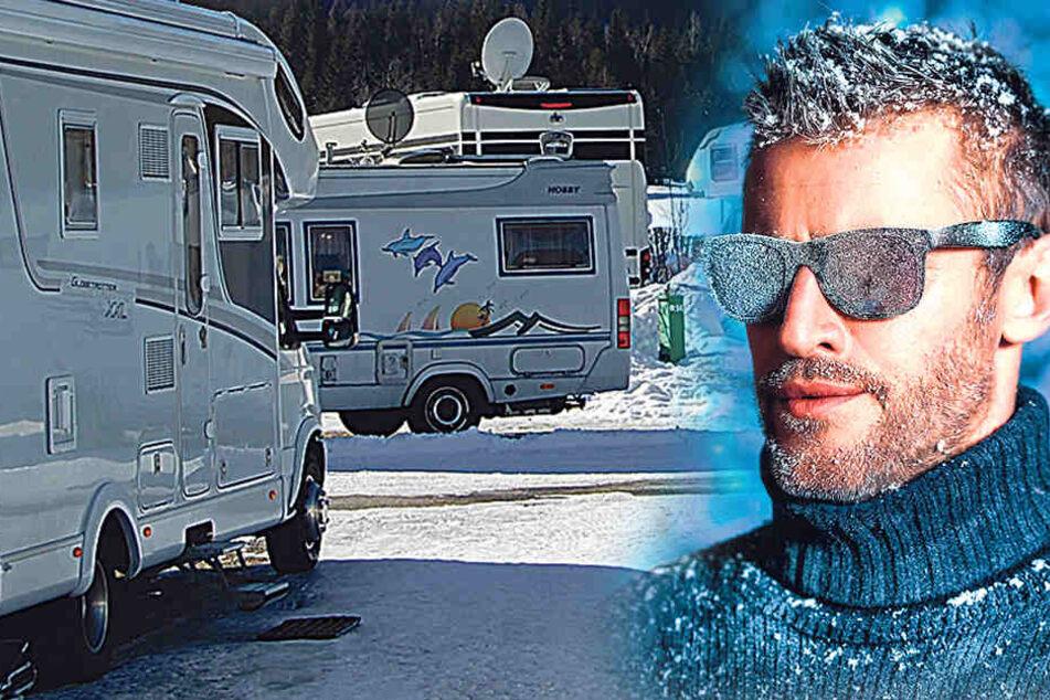 Campen im Winter wird immer beliebter.