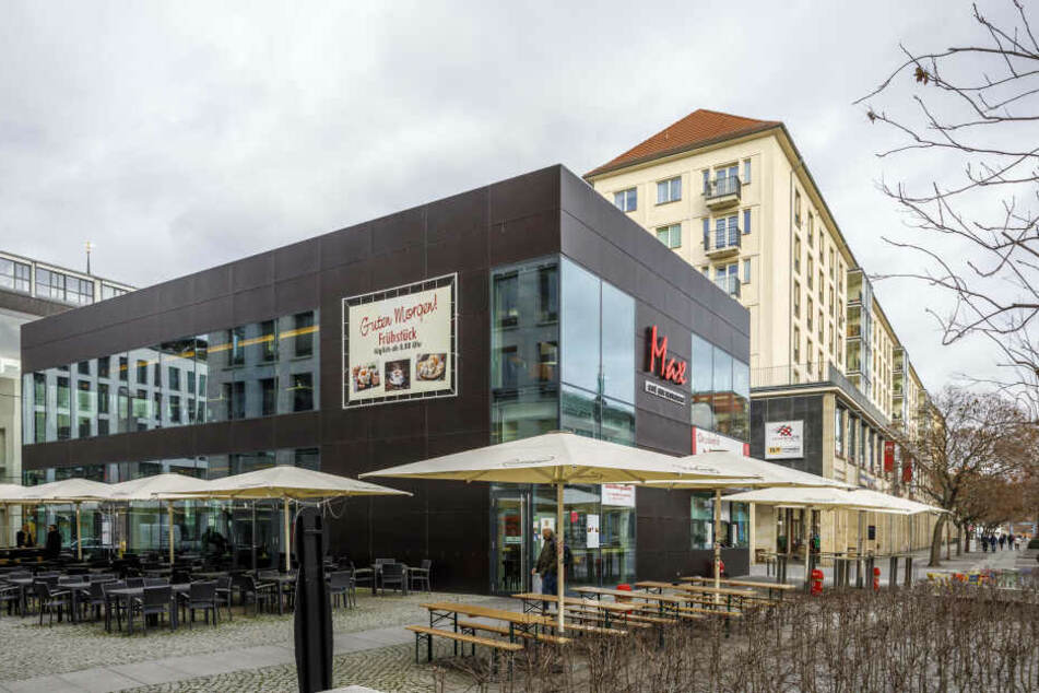 Im Schwester-Restaurant in der Wilsdruffer Straße geht es dagegen weiter.