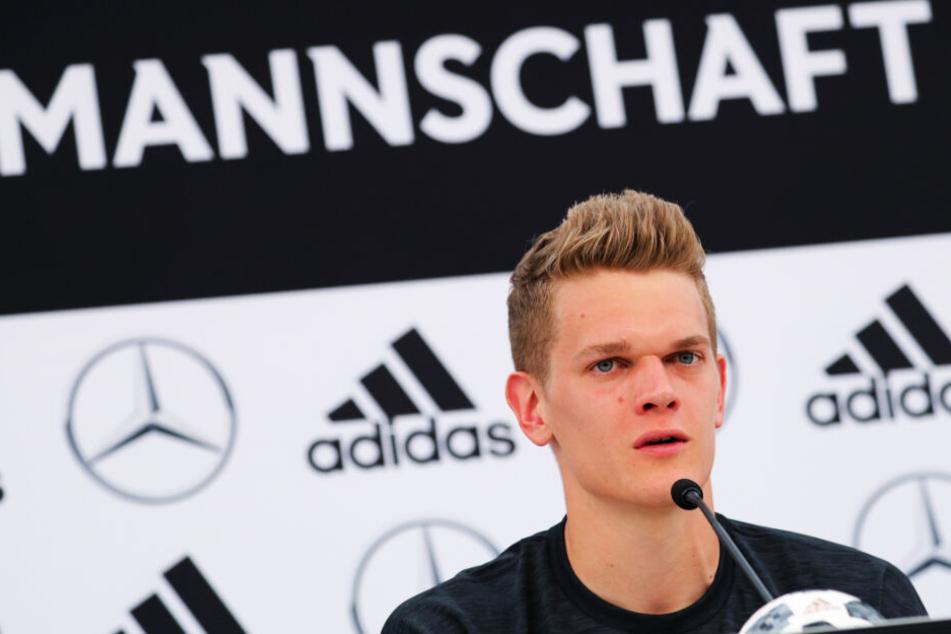 Matthias Ginter setzte sich bei all seinen Vereinen durch und kam überall regelmäßig zum Einsatz.