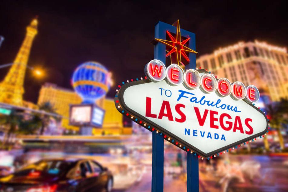 Die Reise sollte nach Las Vegas gehen.