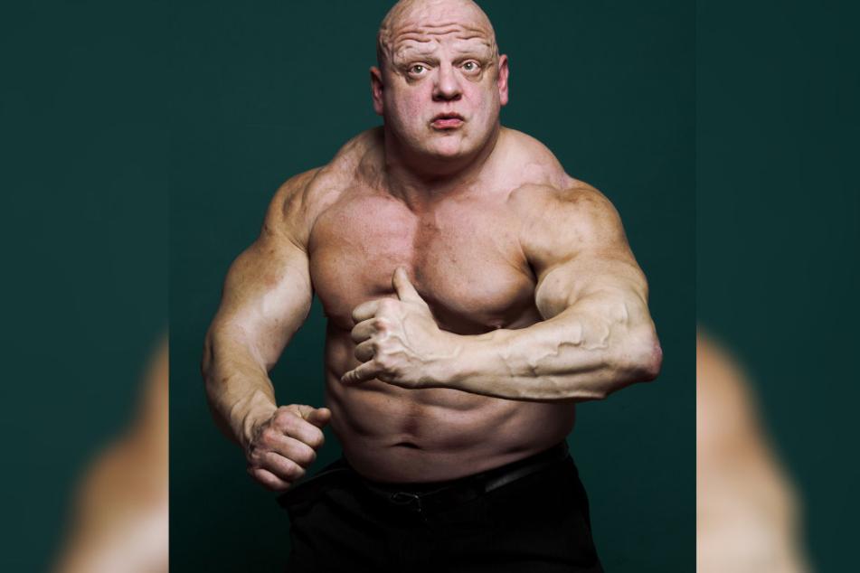 Seine Karriere als Bodybuilder und Trainer ist Käpt'n Rummelsnuff bis heute  anzusehen.