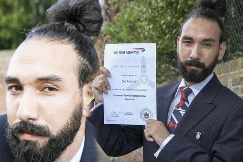 Sid Ouared fühlt sich diskriminiert! Wegen seiner Frisur feuerte ihn sein Arbeitgeber.