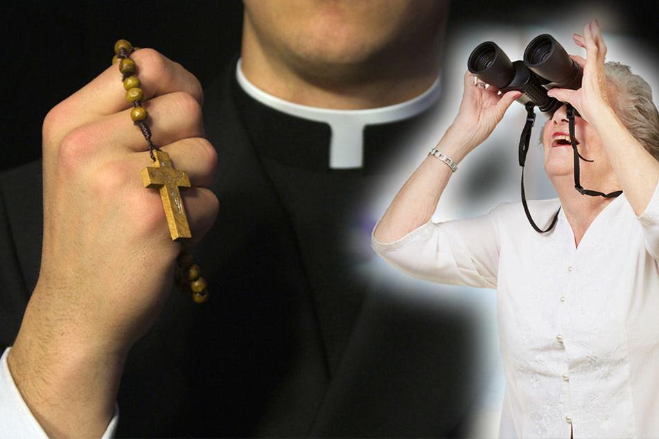 Immer wieder bekam der Pfarrer ungewollte Geschenke von seiner Stalkerin. (Symbolbild)