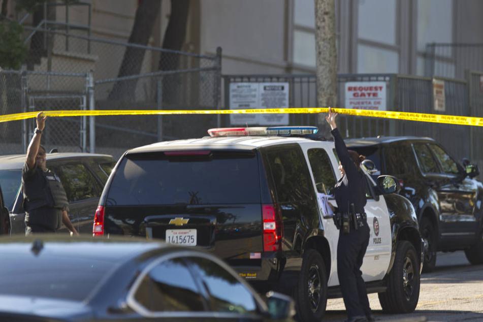 Die Polizei ging zunächst von einer Schießerei aus.
