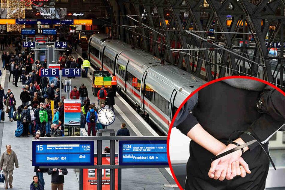 Die Polizei nahm am Mittwochabend gleich zwei Männer im Hauptbahnhof fest. (Symbolbild)