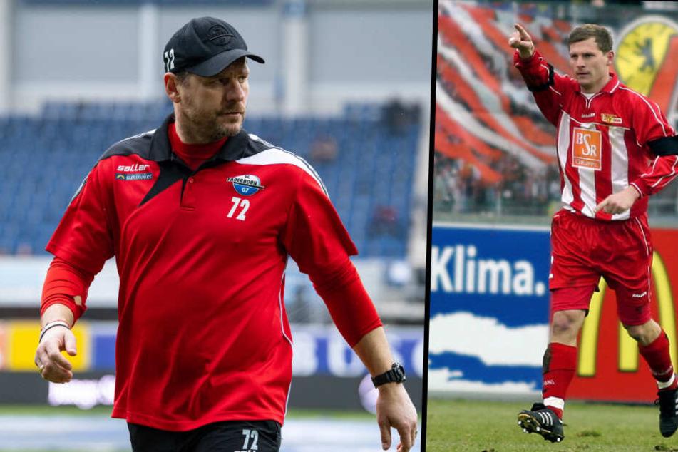 Blick in die Vergangenheit: Steffen Baumgart erzielte in 63 Spielen 23 Tore für den 1. FC Union Berlin. (Bildmontage)