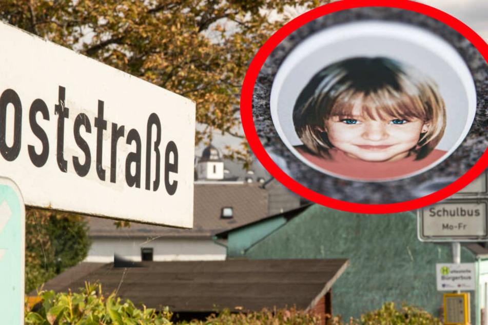 Peggy war 2001 verschwunden, ihre Leiche soll in der Poststraße an einer Bushaltestelle übergeben worden sein.