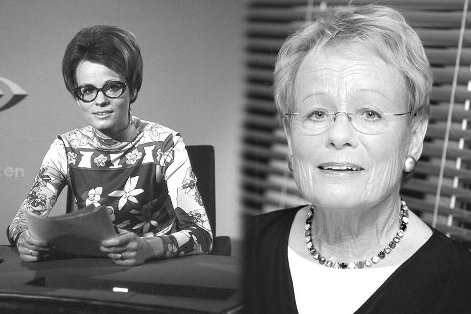Sie war die erste deutsche Nachrichtensprecherin: Wibke Bruhns gestorben