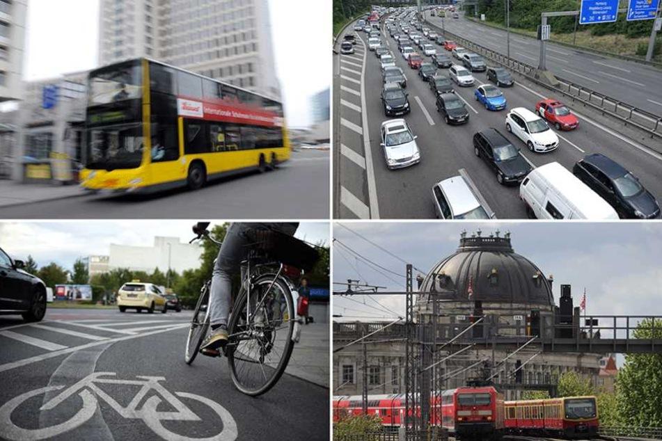Alle Berliner Verkehrsteilnehmer sollen für die CDU möglichst gleichberechtigt in ein Verkehrskonzept einfließen.