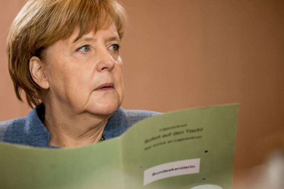 Angela Merkel bekommt mehr schlecht als recht Rückenwind von der SPD.
