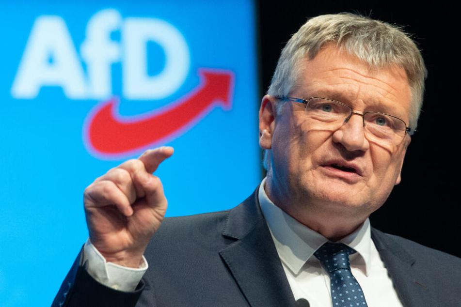 Jörg Meuthen äußerte sich am Freitag ausführlich zur Bluttat von Hanau.